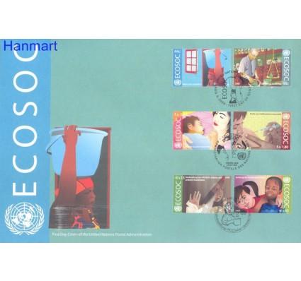 Znaczek Narody Zjednoczone Nowy Jork 2009 Mi 1159-1160, 652-653, 605-606 FDC