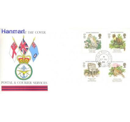 Znaczek Wielka Brytania 1986 Mi 1068-1071 FDC