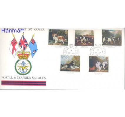 Znaczek Wielka Brytania 1991 Mi 1305-1309 FDC