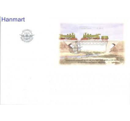 Znaczek Rumunia 2011 Mi bl510 FDC