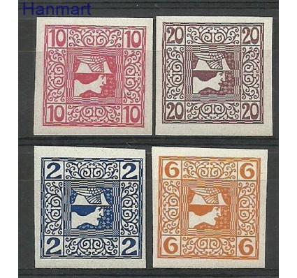 Znaczek Austria 1908 Mi 157-160 Z podlepką *