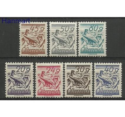 Znaczek Austria 1925 Mi 459-465 Z podlepką *