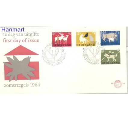 Znaczek Holandia 1964 Mi 818-821 FDC