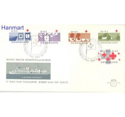 Znaczek Holandia 1996 Mi 801-805 FDC
