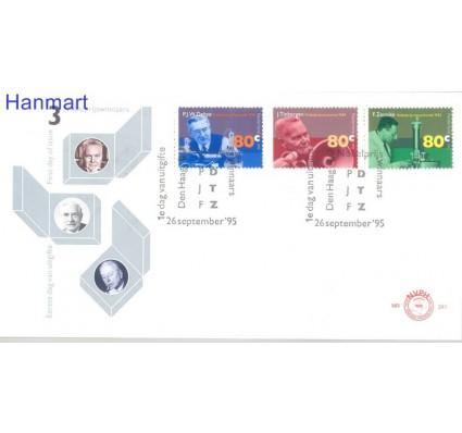 Znaczek Holandia 1995 Mi 1553-1555b FDC