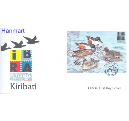 Znaczek Kiribati 1999 Mi bl39 FDC