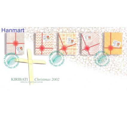 Znaczek Kiribati 2002 Mi 883-887 FDC
