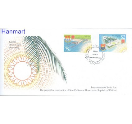Znaczek Kiribati 2001 Mi 851-852 FDC