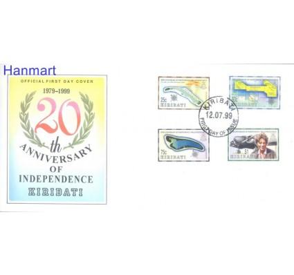 Znaczek Kiribati 1999 Mi 801-804 FDC