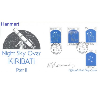 Znaczek Kiribati 1995 Mi 694-697 FDC