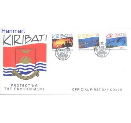 Znaczek Kiribati 1994 Mi 669-671 FDC