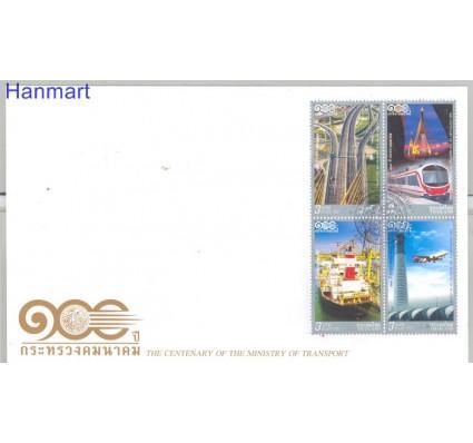 Znaczek Tajlandia 2012 Mi vie3178-3181 FDC
