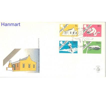 Znaczek Aruba 1986 Mi 5, 7, 9, 11 FDC