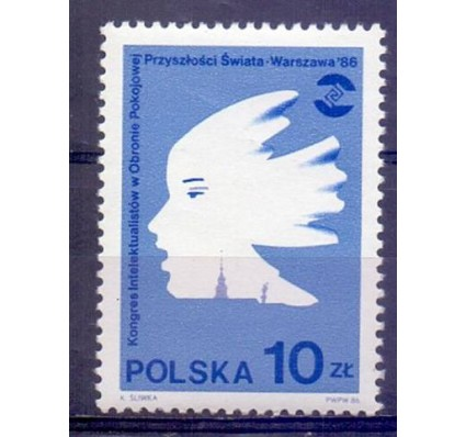 Polska 1986 Mi 3013 Fi 2865 Czyste **