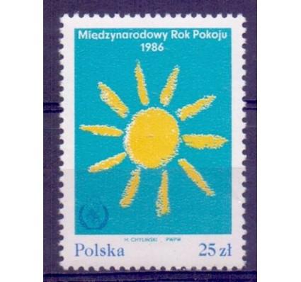 Polska 1986 Mi 3018 Fi 2868 Czyste **