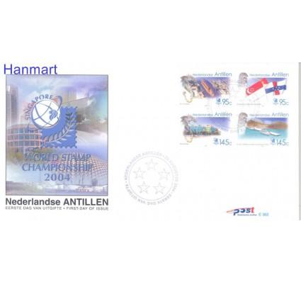 Znaczek Antyle Holenderskie 2004 Mi 1311-1314 FDC