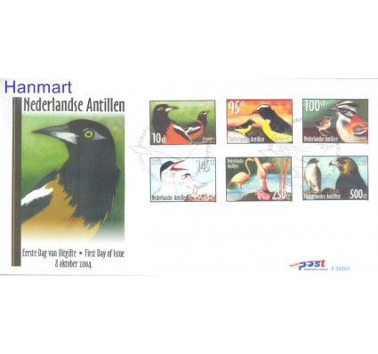 Znaczek Antyle Holenderskie 2004 Mi 1338-1343 FDC