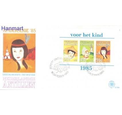 Znaczek Antyle Holenderskie 1985 Mi bl29a FDC