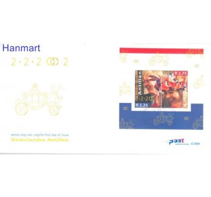 Znaczek Antyle Holenderskie 2002 Mi bl55 FDC