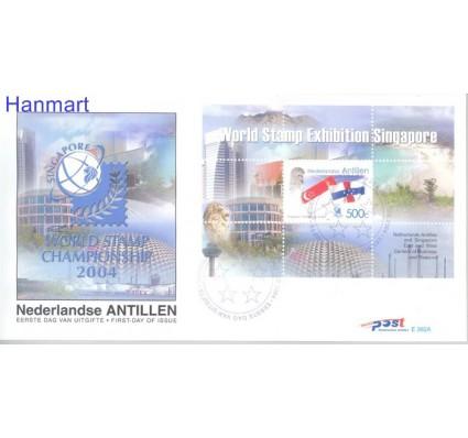 Znaczek Antyle Holenderskie 2004 Mi bl62 FDC
