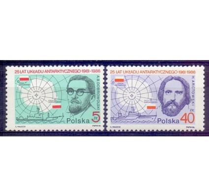 Znaczek Polska 1986 Mi 3033-3034 Fi 2885-2886 Czyste **
