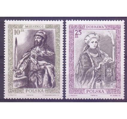 Znaczek Polska 1986 Mi 3066-3067 Fi 2918-2919 Czyste **