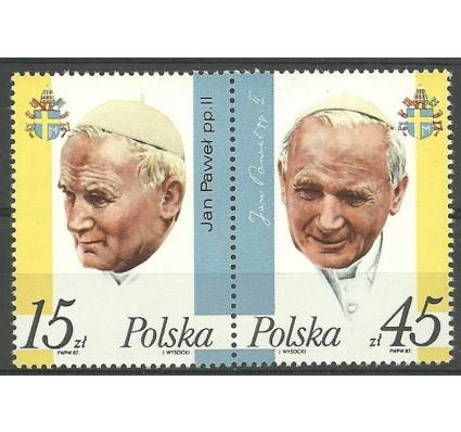 Znaczek Polska 1987 Mi 3099-3100 Fi 2951-2952 Czyste **