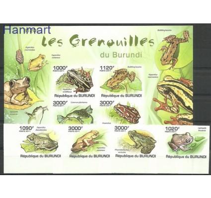 Znaczek Burundi 2011 Mi ZS4 BUR2062-2065B+bl162B Czyste **
