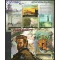 Burundi 2012 Mi ark2363-2366+bl208 Czyste **