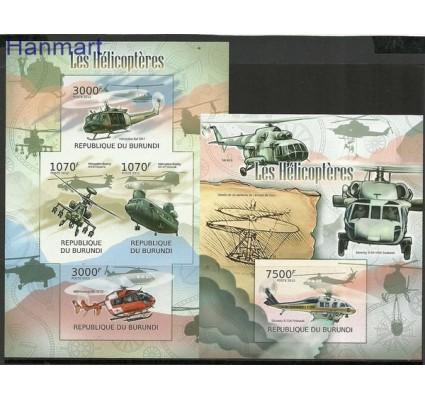 Znaczek Burundi 2012 Mi ark2471-2474B+bl227B Czyste **