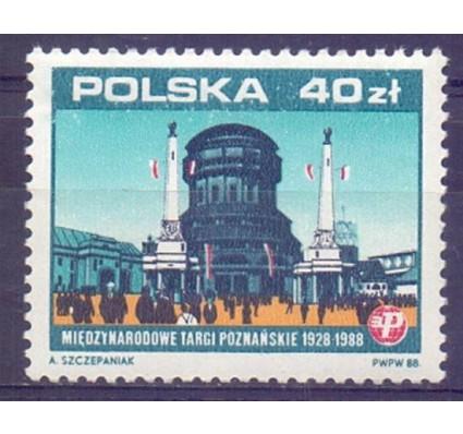 Polska 1988 Mi 3183 Fi 3035 Czyste **