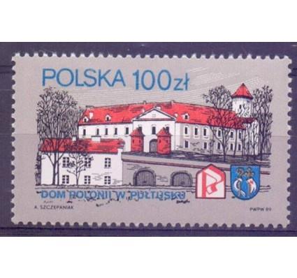 Znaczek Polska 1989 Mi 3205 Fi 3057 Czyste **