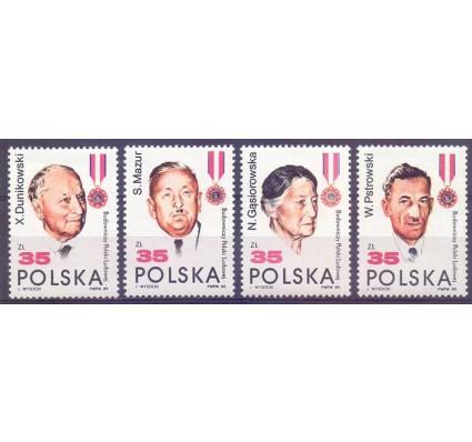 Znaczek Polska 1989 Mi 3207-3210 Fi 3058-3061 Czyste **