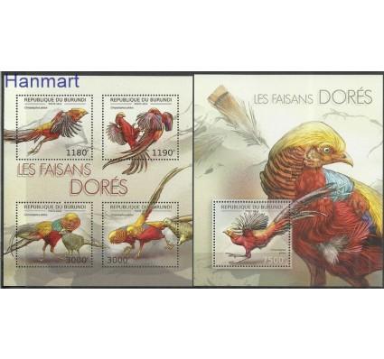 Znaczek Burundi 2012 Mi ark2793-2796+bl283 Czyste **