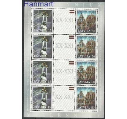 Znaczek Łotwa 2000 Mi ark 529-530 Czyste **