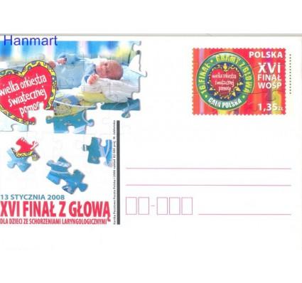 Znaczek Polska 2008 Fi Cp 1447 Całostka pocztowa