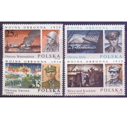 Polska 1989 Mi 3216-3219 Fi 3068-3071 Czyste **