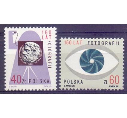 Polska 1989 Mi 3232-3233 Fi 3084-3085 Czyste **
