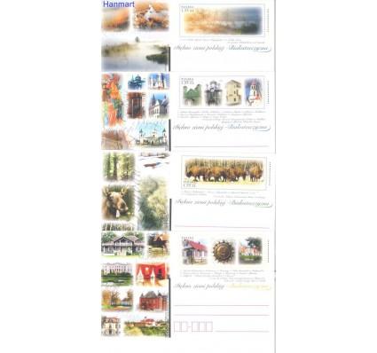 Znaczek Polska 2010 Fi Cp 1537-1540 Całostka pocztowa