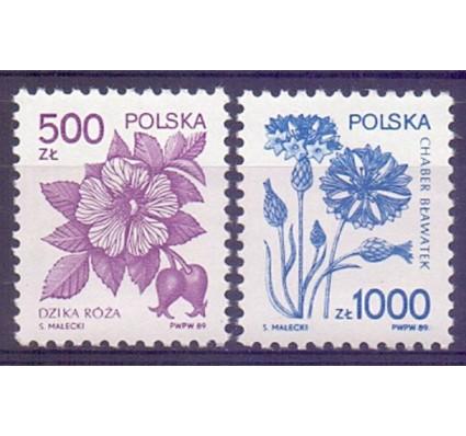 Znaczek Polska 1989 Mi 3245-3246 Fi 3097-3098 Czyste **