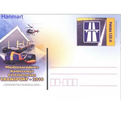 Znaczek Polska 2010 Fi Cp 1551 Całostka pocztowa