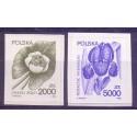 Polska 1990 Mi 3277-3278 Fi 3129-3130 Czyste **