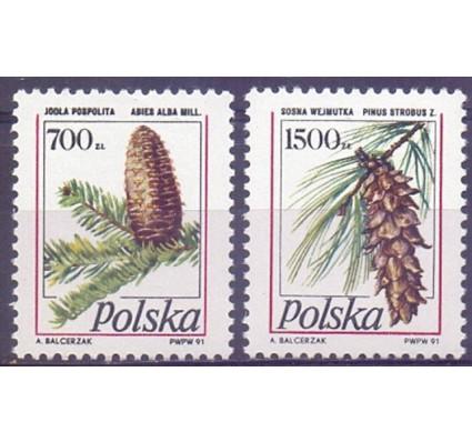 Znaczek Polska 1991 Mi 3312-3313 Fi 3164-3165 Czyste **