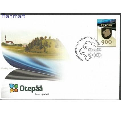 Znaczek Estonia 2016 Mi 857 FDC