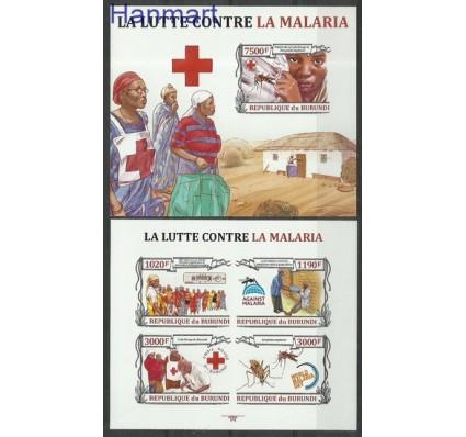 Znaczek Burundi 2013 Mi ark3158-3161B+bl356B Czyste **
