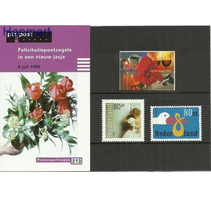 Znaczek Holandia 1999 Mi 1733-1735 Czyste **