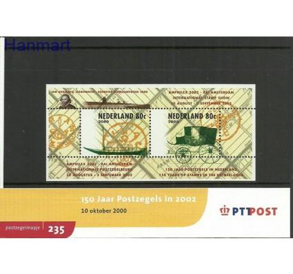 Znaczek Holandia 2000 Mi bl 66 Czyste **