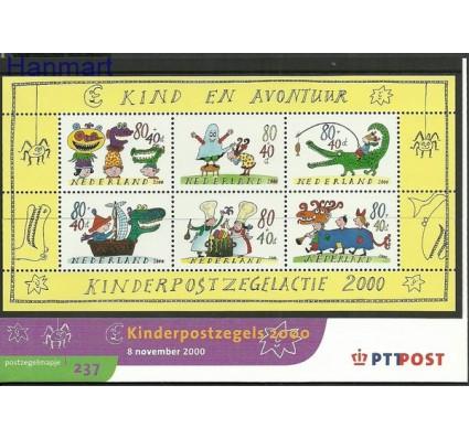 Znaczek Holandia 2000 Mi bl 67 Czyste **