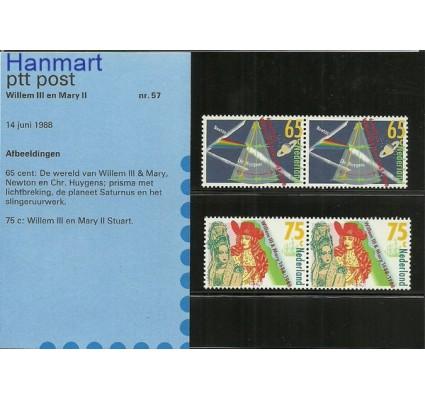 Znaczek Holandia 1988 Mi 1345-1346 Czyste **