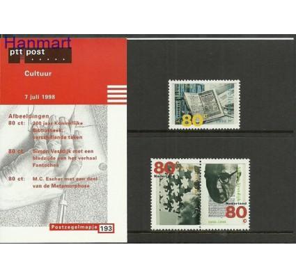 Znaczek Holandia 1998 Mi 1665-1667 Czyste **